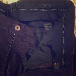 Claiborne corduroy slacks